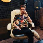 Запись кавера на студии для Жени Михайлова