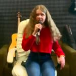 Запись cover песни на студии для Маргариты Викберг