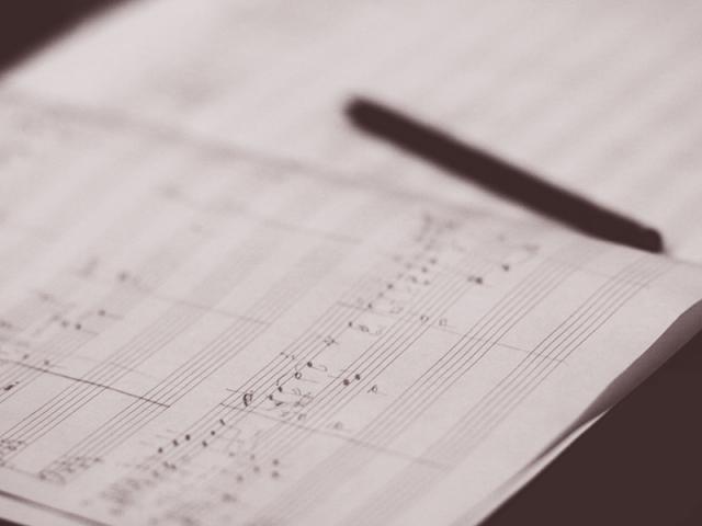 сочинение музыки