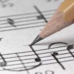 Написание музыки - мелодия, аккорды
